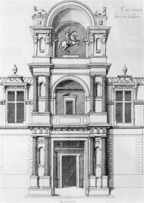 French Chateau Design androuet du cerceau jacques the elder