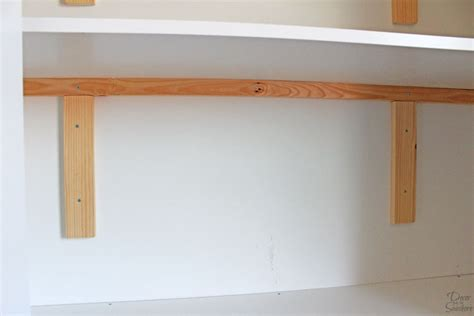 Closet Shelf Supports by How To Make Custom Closet Shelves Diy Closet Shelves