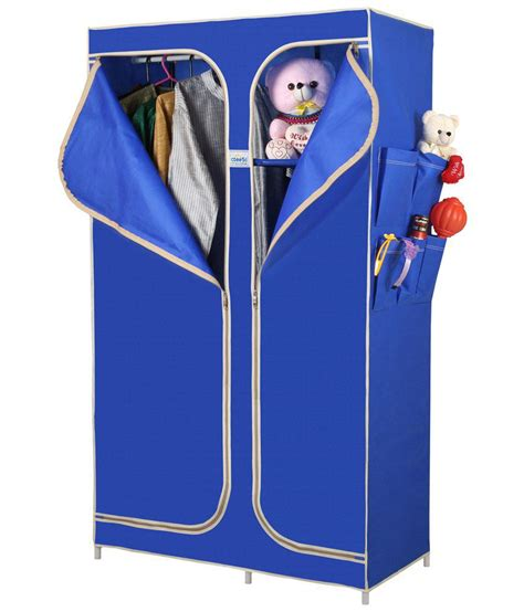 Metal Frame Canvas Wardrobe by Cbeeso 3 Best Price In India On 4th December 2017 Dealtuno