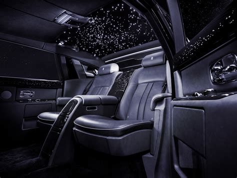 rolls royce inside lights 2013 rolls royce phantom celestial luxury interior g