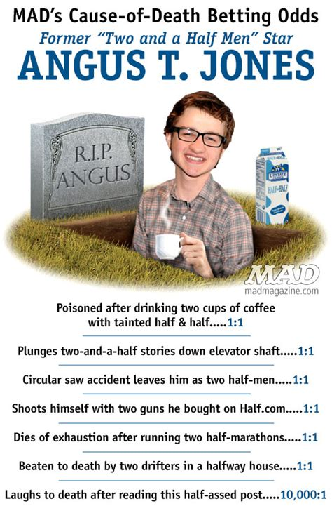 Mads cause of death betting odds angus t jones mad magazine idiotical