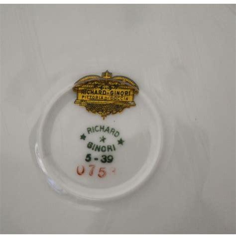 richard ginori pittoria di doccia piatto in ceramica richard ginori pittoria di doccia gi 242