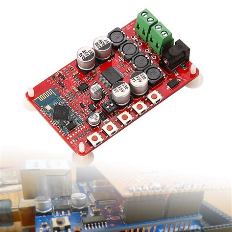 Diy Yamaha Digital Headphone Lifier Board 2 X 20w 12v Yda138 E digital lifier board bluetooth csr4 0 tda7492p 2 x 50w
