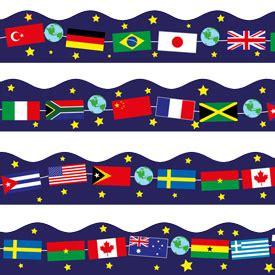 flags of the world border clipart world flags border clip art 18