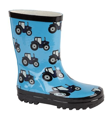 infant size 4 snow boots boys wellies wellington snow boots football
