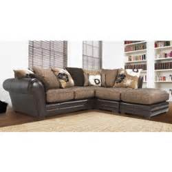 Dfs Leather And Fabric Sofas Kempton Leather Fabric Corner Sofa Dfs Think Sofas Think Polyvore