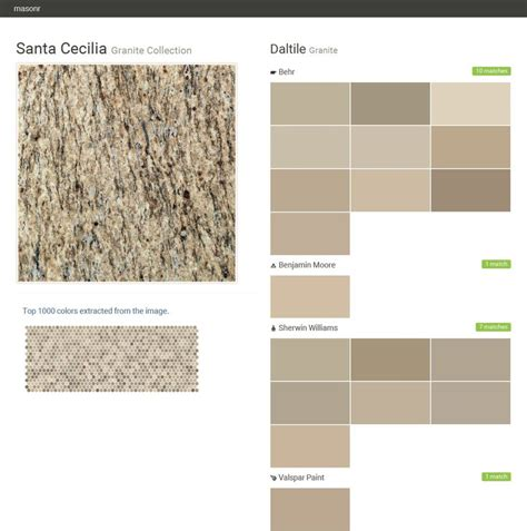 kitchen cabinet color matching 25 best ideas about santa cecilia granite on