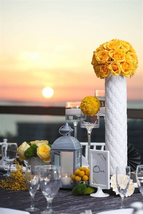 centerpieces with vases get creative with vases b lovely events