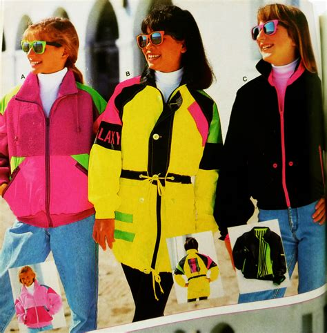 80s ski wear ski coats neon cliquey pizza 2 more 80 s teen book