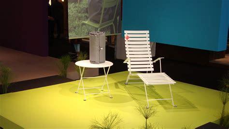chaise longue fermob chaise longue bistro piment fermob