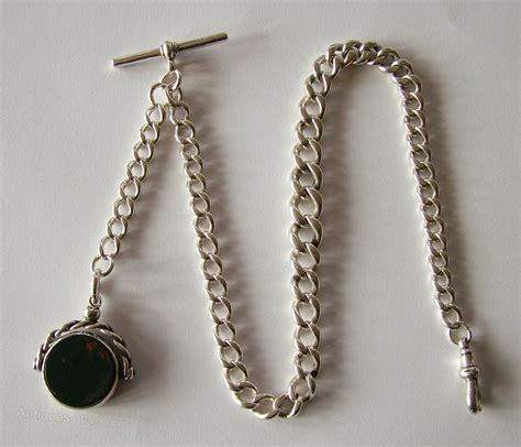 and chain antiques atlas antique silver pocket chain and