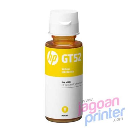 Tinta Hp 935xl Yellow Original Berkualitas jual tinta hp gt 52 yellow murah garansi jagoanprinter