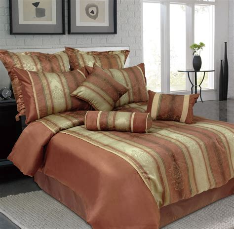 Bed Comforter Sets King 9 King Jacquard Bedding Comforter Set