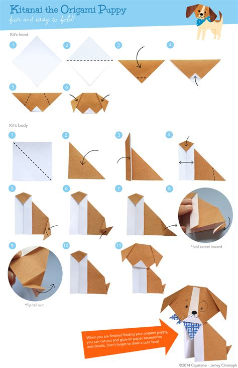 How To Make A Paper Puppy - alley cats and drifters make your own kitanai