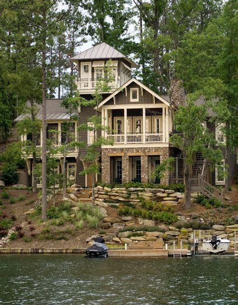 Homes Lake by The Pink Clutch Lake House Perfection