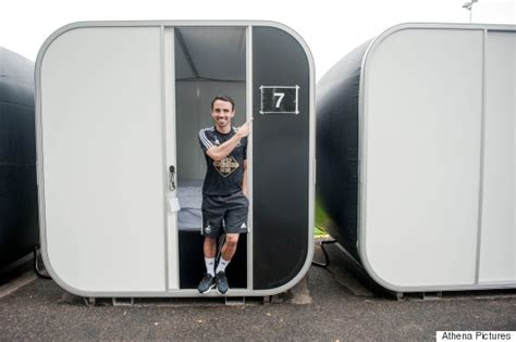 sleeping pods swansea city fc install sleep pods to increase wellbeing