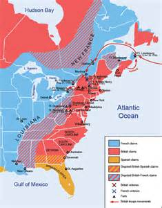 map of america in 1753 unit resources ms neal s u s history class