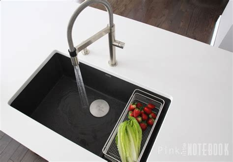 Thinking about the BLANCO SILGRANIT Sink?   Pink Little Notebook