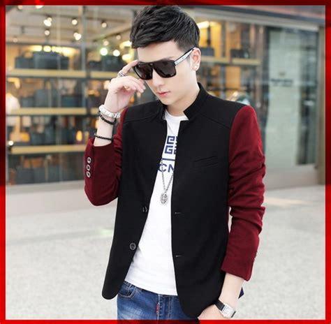 Desain Jaket Pria Keren | model baju jaket blazer korea pria terbaru desain keren
