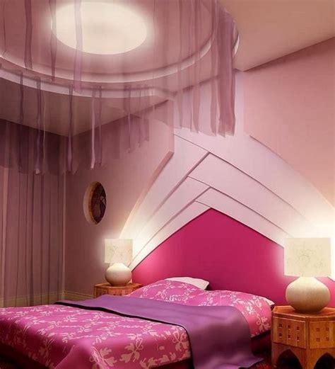 Gypsum False Ceiling Design With Ceiling Curtains Gypsum Design For Bedroom