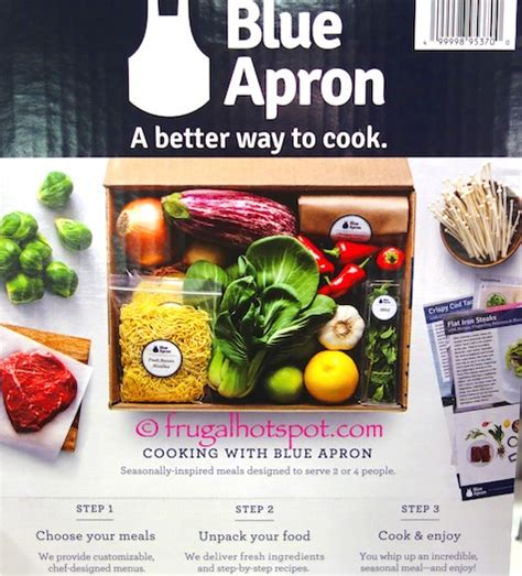 Blue Apron Costco Gift Card - costco blue apron 2 50 gift cards 79 99 frugal hotspot