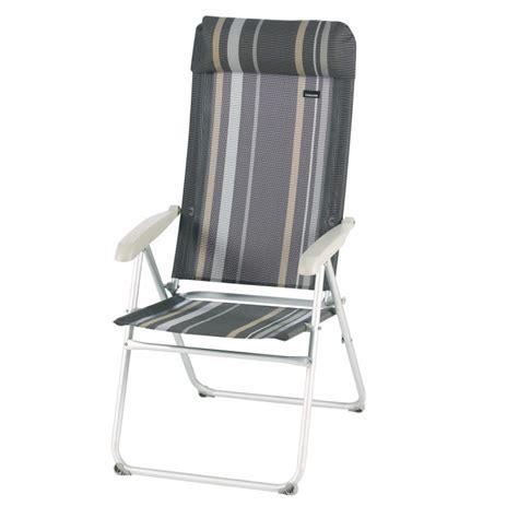 fauteuil trigano fauteuil de cing fauteuil cing acier raye trigano