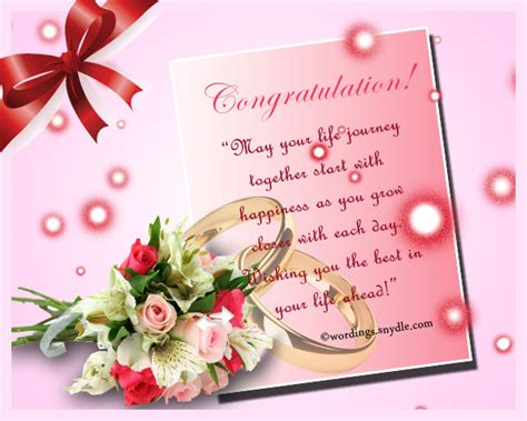 Wedding Congratulations On by Wedding Congratulation Messages Wordings And Messages