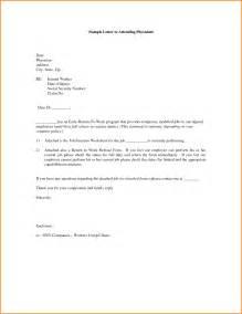 return work letter template 7 sle return to work letter from doctor