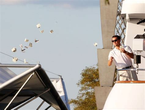 Money Meme - wolf of wallstreet throwing money meme generator