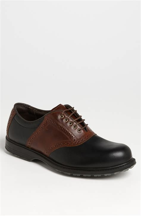 allen edmonds golf shoes allen edmonds muirfield golf shoe in brown for