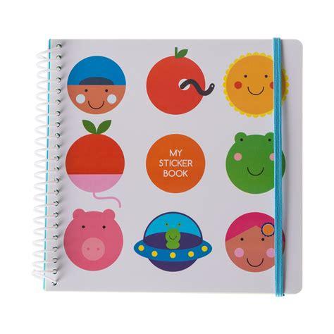 Sticker Book sticker book bulles album pour autocollants pour enfant