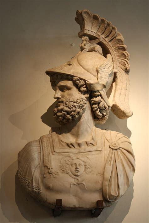 ares mars statue greek roman god of war figure bronze 12 5 polyvore mars ultor illustration ancient history encyclopedia