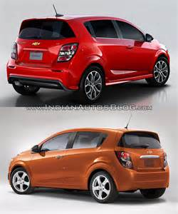 2017 chevrolet sonic hatchback vs new indian autos