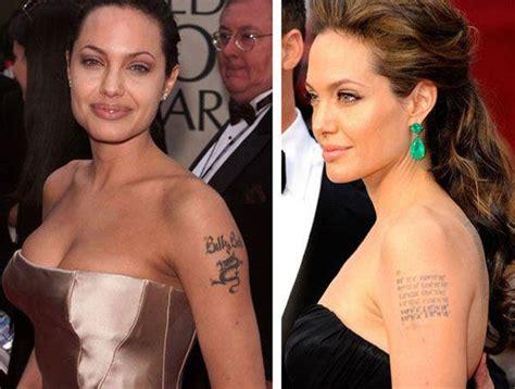 angelina jolie tattoo removed even has had regrets tattx bhpsg