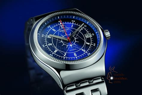 Swatch Irony swatch sistem51 irony sistem51 goes metal discover the
