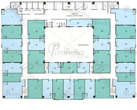 Metro Centre Floor Plan | metro centre ii kowloon bay hong kong office for sale