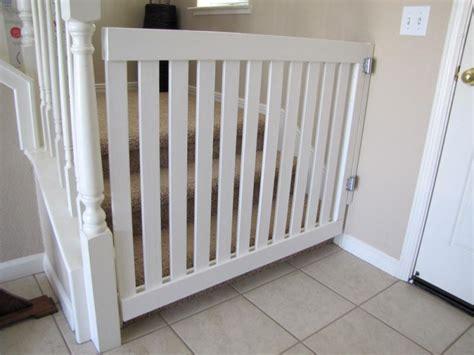 white wooden gate white wooden baby gates stairs ideas