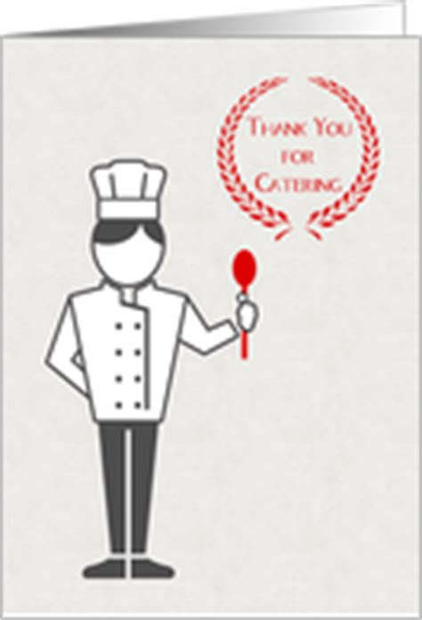 Thank You Letter For Chef Thank You Cards For Chef Cook Baker From Greeting Card Universe