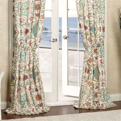 bohemian curtains cote d azur bohemian window treatment