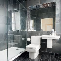 Grey Bathrooms Decorating Ideas Modern Charcoal Grey Bathroom Bathroom Designs Bathroom Ideal Home Housetohome Co Uk