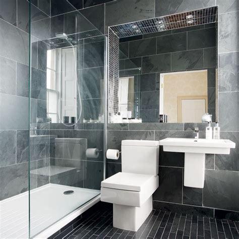 Modern charcoal grey bathroom bathroom designs bathroom ideal home housetohome co uk