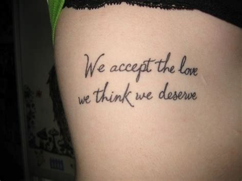 tattoo quotes down side body side best tats