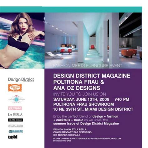 design district magazine design district magazine cocktail and fashion show by la