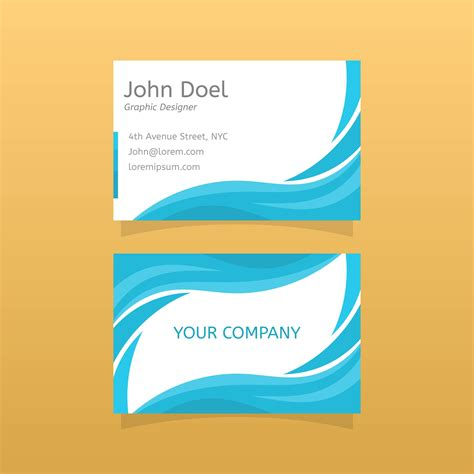 Graphic Designbusiness Card Template by Flat Graphic Design Business Card Vector Template