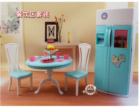 plastic dolls house furniture sets furniture kitchen accessories plastic play set for barbie