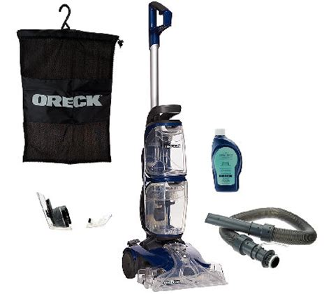 oreck rug cleaner oreck revitalize deluxe carpet cleaner with duoscrub qvc