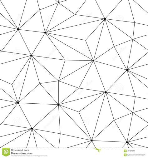 triangle pattern line geometric triangle seamless graphic pattern stock
