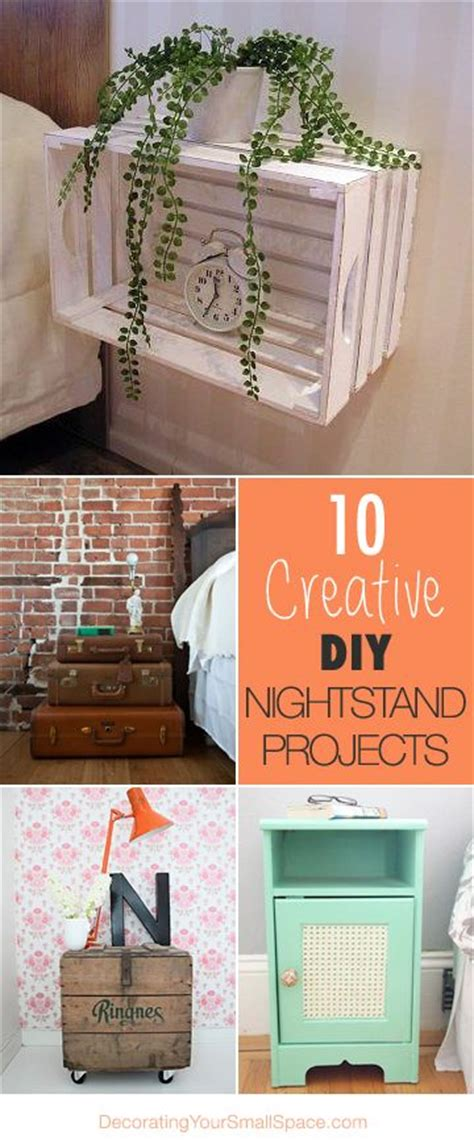 creative nightstand ideas 10 creative diy nightstand projects creative love the