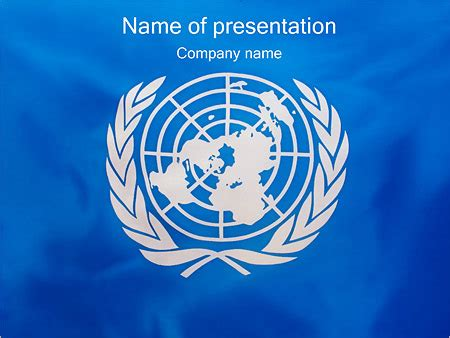 powerpoint templates united nations united nations un flag powerpoint template backgrounds