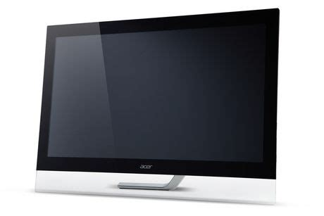 Dijamin Monitor Acer T232hl 23 Ips Touchscreen acer t232hl 23 quot widescreen lcd touchscreen monitor walmart ca